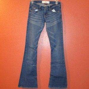 Hollister Relaxed Fit Blue Jeans Size 24 x 31